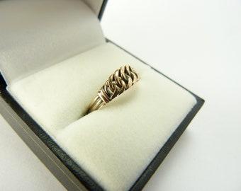 331c9e8a72266 Vintage rose gold mens ring | Etsy