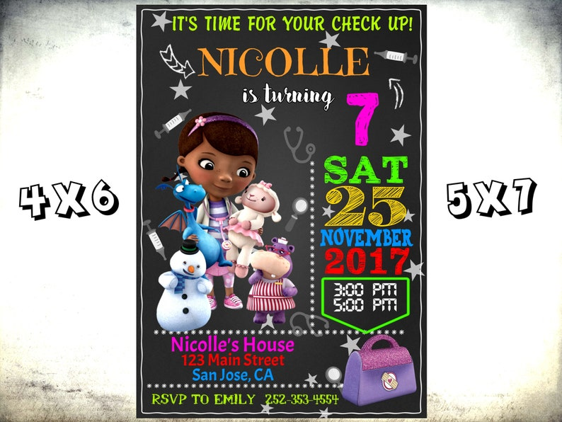 photo regarding Doc Mcstuffins Printable Invitations identify Document McStuffins Invitation, Document McStuffins Birthday Celebration, Document McStuffins Printable Invitation, Document McStuffins invite, McStuffins Social gathering Card