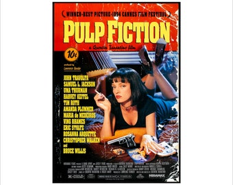5f9786f5756a Pulp fiction poster