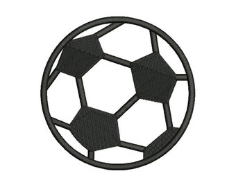 Soccer Ball Embroidery Design - 5 SIZES