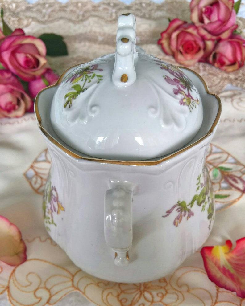 Beautiful Vintage French Porcelain Jar