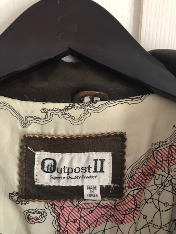 Outpost II Genuine Leather Flight Jacket - image 2