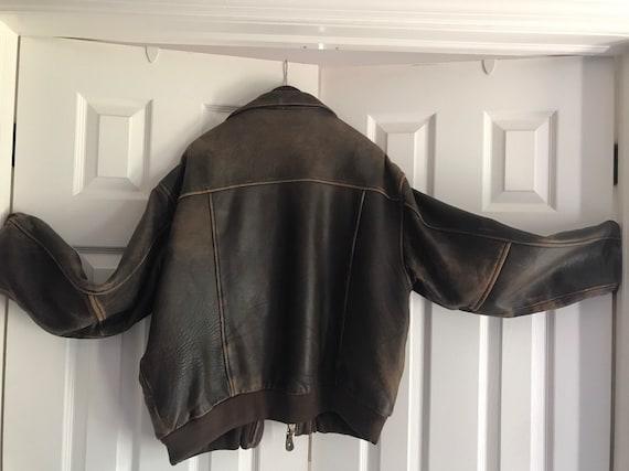Outpost II Genuine Leather Flight Jacket - image 3