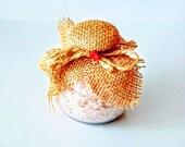 Himalayan Bath Salt With Calendula And Japanese Crystals Himalaya Badesalz mit Ringelblume