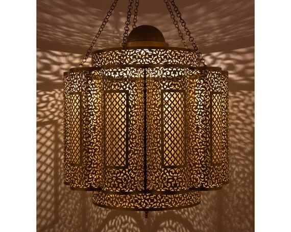 Made to Order – Moroccan Chandelier Amadl Ceiling Light Morocco Lamp large