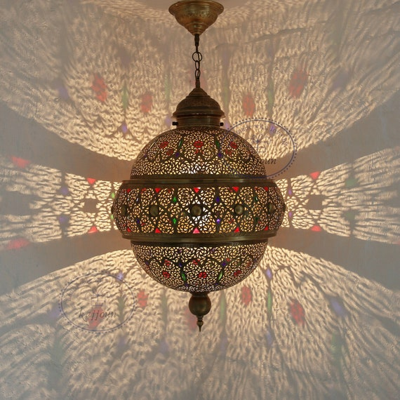 Moroccan Decor Light, Moroccan Lamps, Pendant Lights, Bedroom Night lamp, Boho Lighting, Modern Night – Made to Order