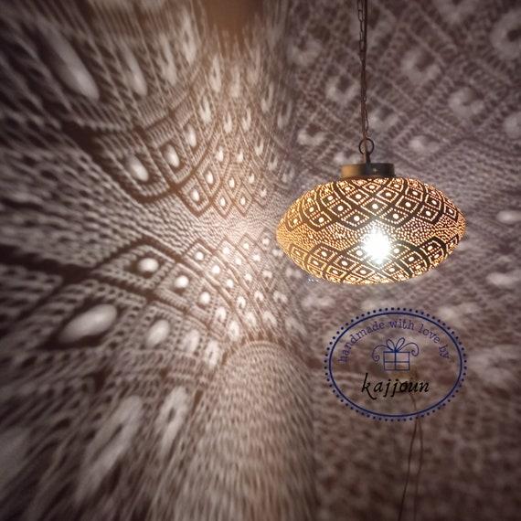 Moroccan Pendant Light , Morocan lamp , Bathroom ceiling lights, Moroccan Decor, Dining Room Lamp