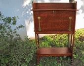 Antique Imperial Drop Front Desk w5042