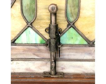 "Antique 6"" Surface Mount Slide Bolt French Door Casement Window Hardware"