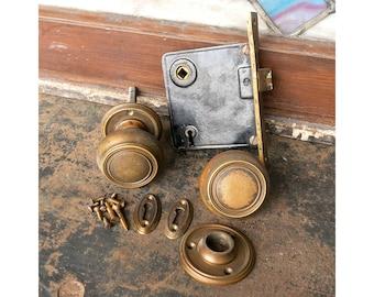 Antique Russwin Madison Door Hardware Set