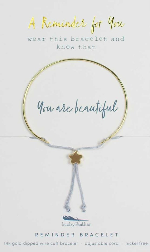 Reminder Bracelet Gold BEAUTIFUL