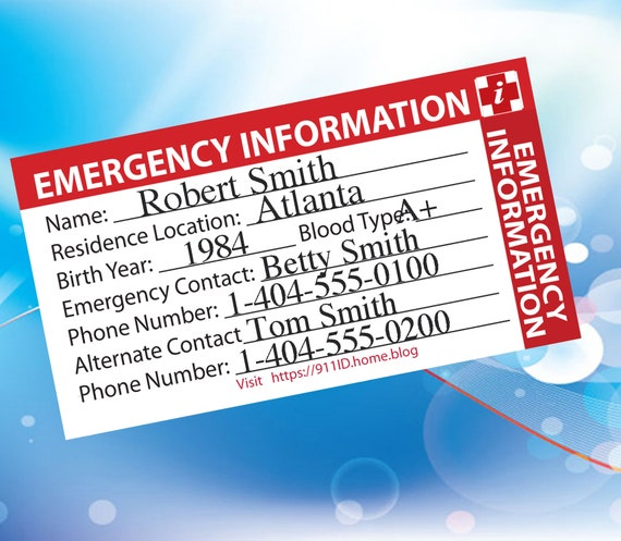 greeting card Will you be my Emergency Contact? art print