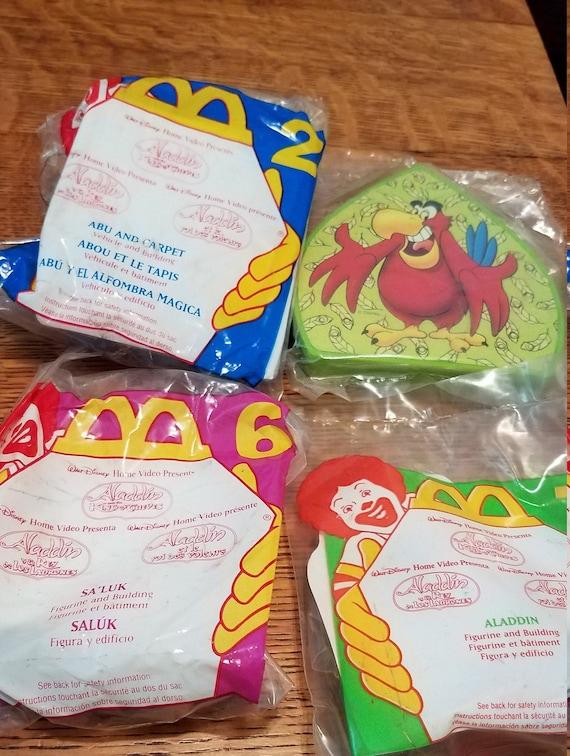 Aladdin 1996 Mcdonalds 5 Ea Happy Meal Toys Etsy