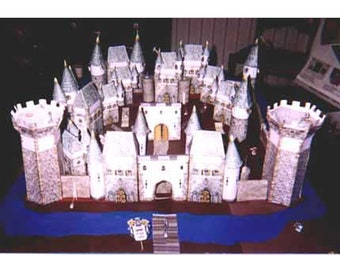 Toilet Paper Roll Ice Castle - Red Ted Art - Make crafting with ...   270x340