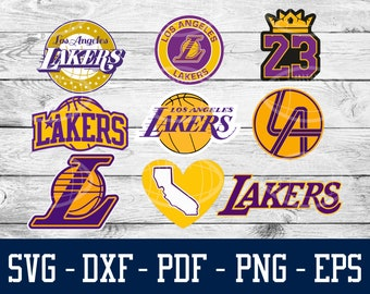 26cf49efbdf27 Los Angeles Lakers SVG, DXF, EPS, Png - instant download