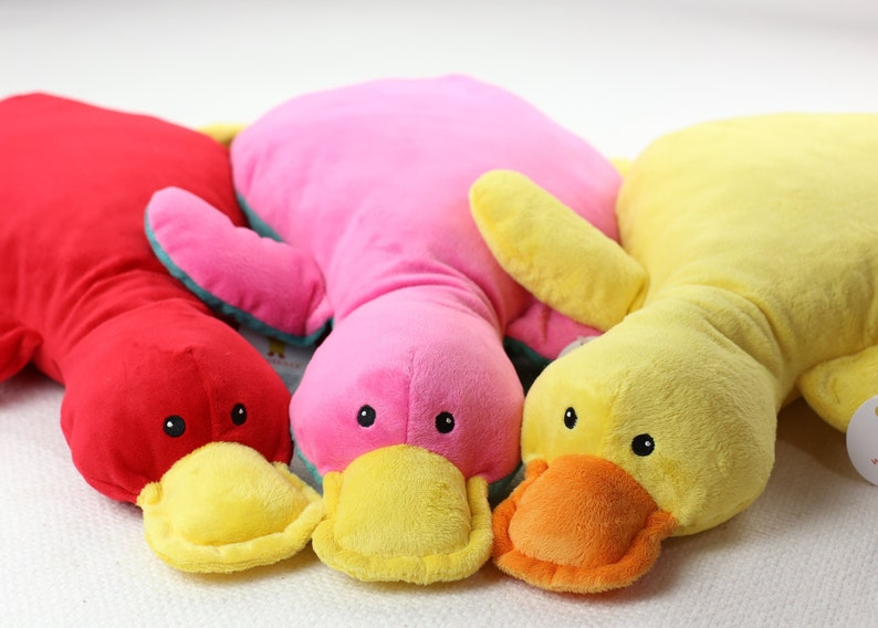 Wonder Duck  A Plush Pal With A Purpose image 0