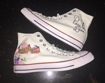 d909dd46 Panic at the Disco Inspired Converse All-Star Shoes