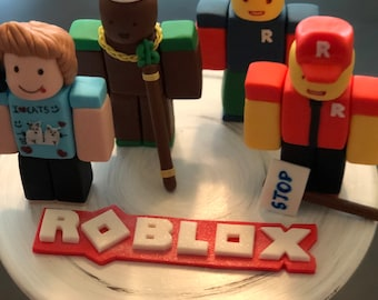 Inspired by ROBLOX GAME   Edible Cake toppers 3.5 inch