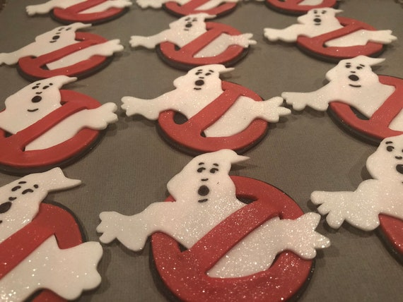 Inspired by Ghostbusters cupcakes toppers