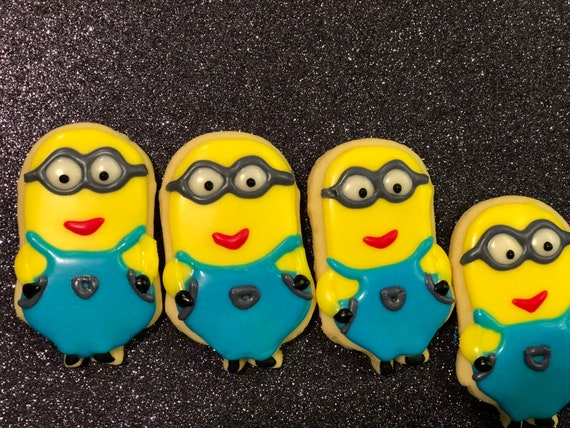 Minions movies inspired Cookies