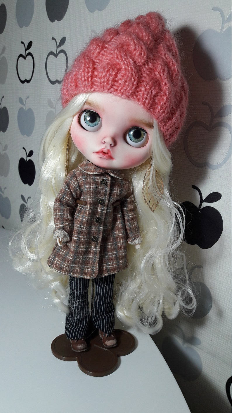 Sold out Custom Blythe doll OOAK ONLY FACEPLATE image 1