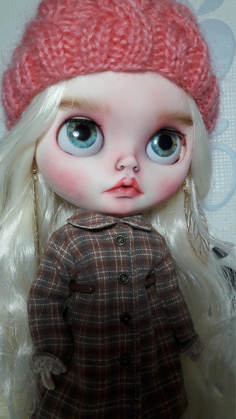 Sold out Custom Blythe doll OOAK ONLY FACEPLATE image 7