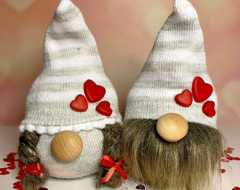 Gift for valentines day, valentine gift, gnomes, gift for her, gift for him