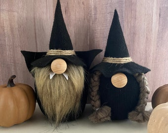 Halloween gnomes | witch | halloween | halloween decor | gnomes