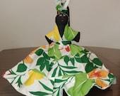 Beautiful Topsy Turvy Rag Doll The Bradshaws of St. Lucia W.I. - Two Sided Doll