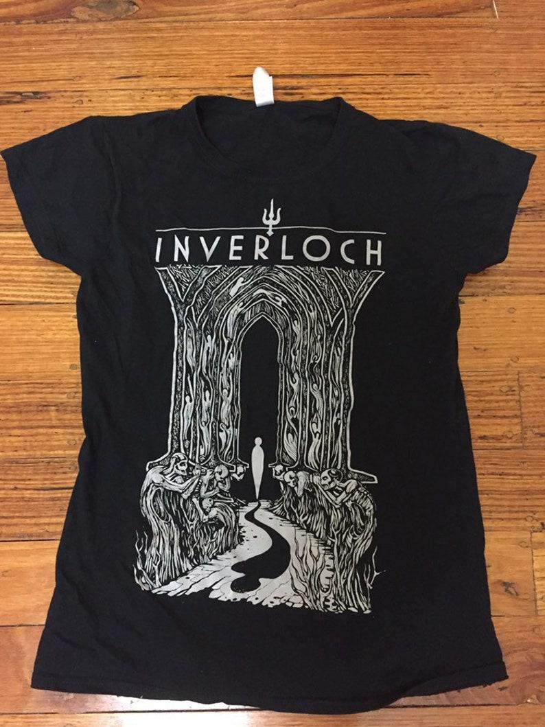 a76b44eae Inverloch band shirt | Etsy