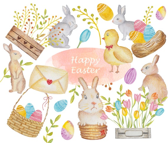 Easter Party Clipart