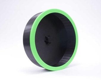 Lunar Sugar Glider Wheel Black with Green Glow