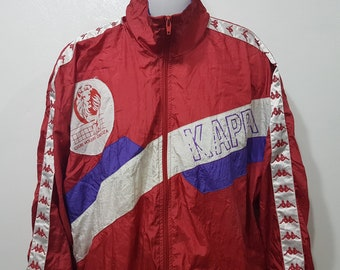 c8bf347e7 Vintage kappa jacket men's 90s kappa jacket-track training jacket-kappa  football clothing sportswear Big logo