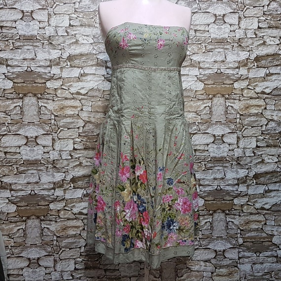 vintage Derhy tank dress women/boho hippie Summer