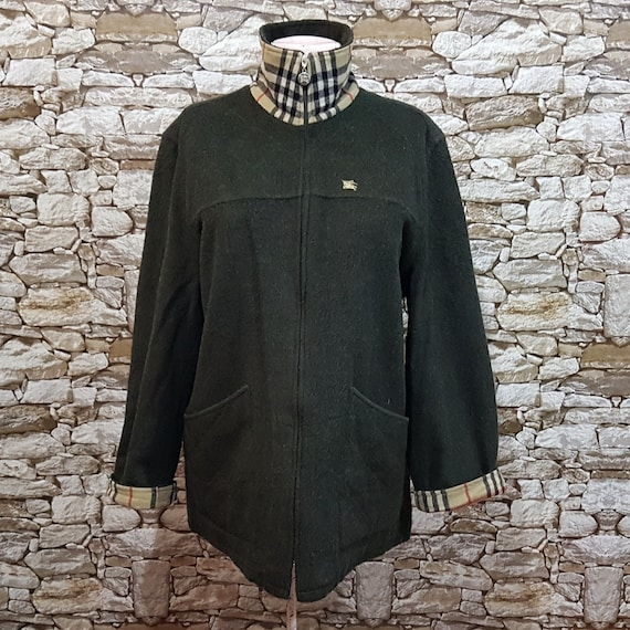 Vintage Burberry quilted jacket windbreaker women