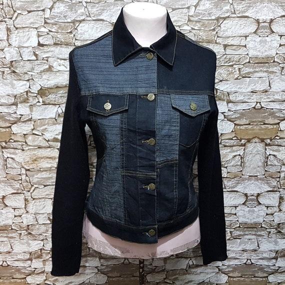 vintage jacket jeans 80year old jeans jacket in midrange Veston