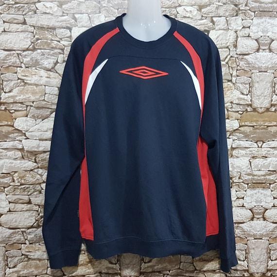 Vintage 90s Umbro Big logo Sweatshirt men size 2XL