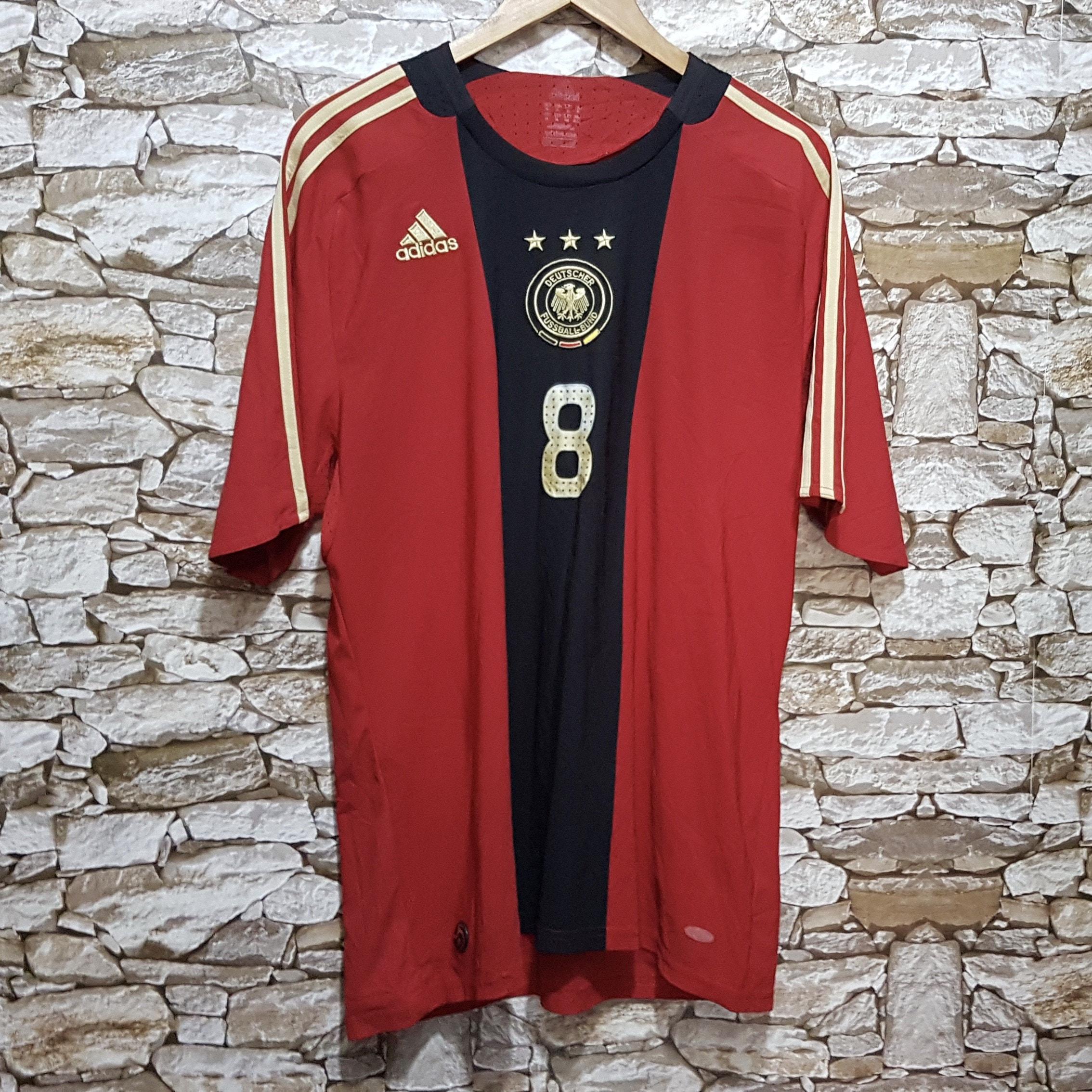 Vintage Adidas Germany Frings Soccer jersey football shirt men size: XL /90s old school Sportswear shirt/vintage clothing men