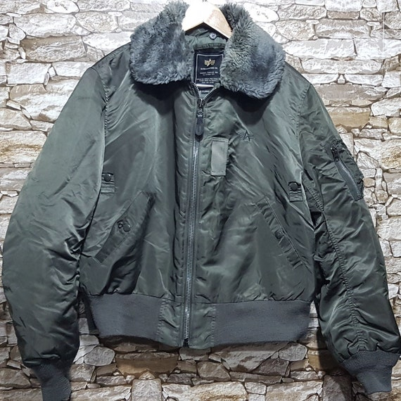Vintage Alpha industries MA-1 Military Flight Bomb