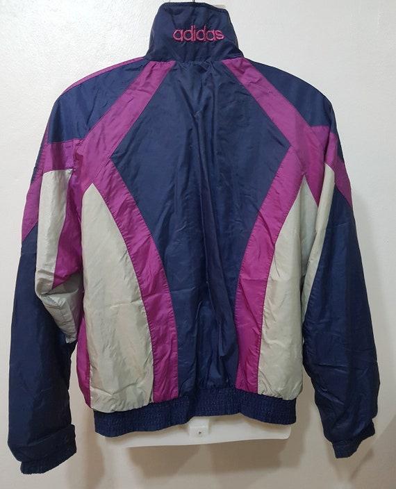 Vintage adidas men bomber jacket sportjacket multicolor size