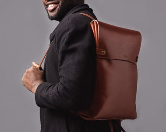 Backpack Laptop leather backpack Browne backpack men MacBook backpack  bisness pack gift Personalized gift e08a0f8c0a08