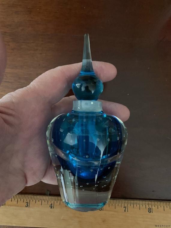Vintage paperweight perfume bottle | Etsy