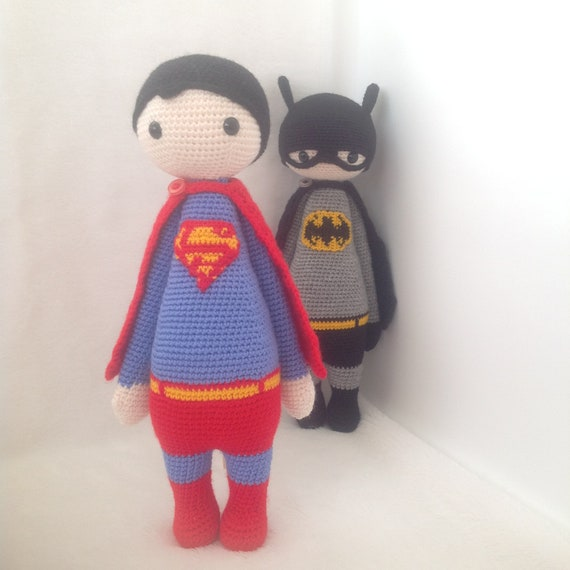 Lenn's Craft ♥ Handmade doll♥ Amigurumi ♥ : Batman Amigurumi ... | 570x570