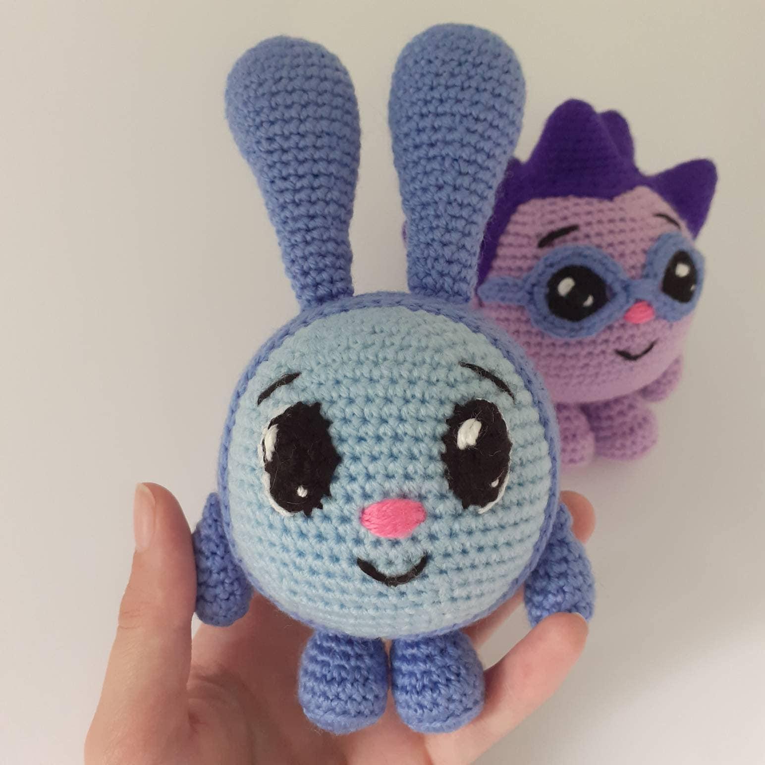 PDF pattern Crochet baby/'s toy Babyriki Cartoon character stuffed toy for kids Baby Hedgehog