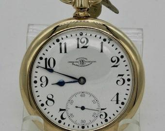 1911  Ball Waltham Official Standard  16s Model 1899 Railroad pocket watch 21 Jewels Adj. 5 Pos.