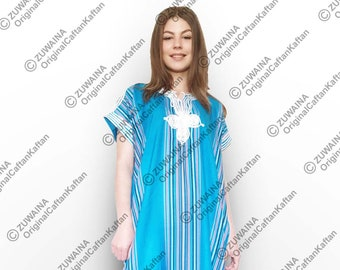 d95582ca4d Moroccan Kaftan Caftan Dresses for Women (Cotton) Soft Beach