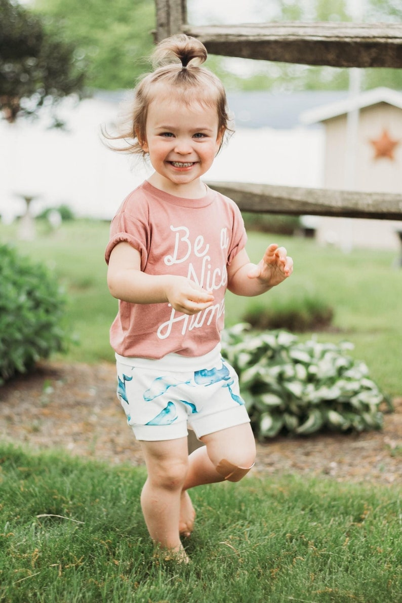 Baby Toddler and Kids Shorts Bummies Whale Bloomers Watercolor Whales Shorties Beach Shorts Nautical Bummies