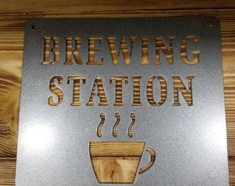 coffee shop kitchen decor.htm brew station etsy  brew station etsy