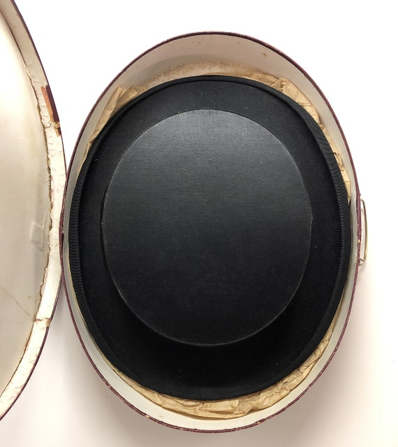 divers styles choisir l'original réflexions sur Chapeau Claque, Black Folding Hat, French Cylinder, Top Hat in Original  Box, Awarded Design
