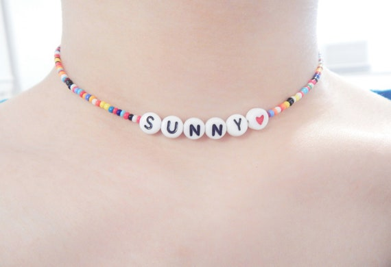 rainbow unique funky gift choker necklace gives to new orleans mutual aid